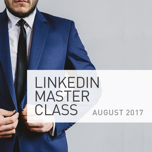 UTS Festival of Future You LinkedIn Master Class 2017 dates to be confirmed