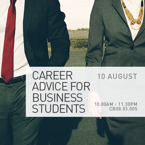 Career Advice For Business Students