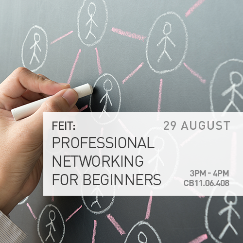 FEIT Event: Professional Networking for Beginners