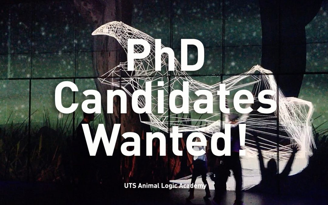 PhD candidates wanted!