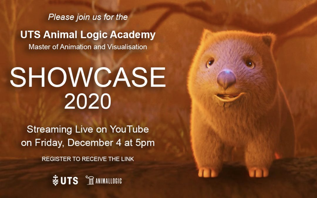 Join us for the UTS Animal Logic Academy virtual 2020 Showcase