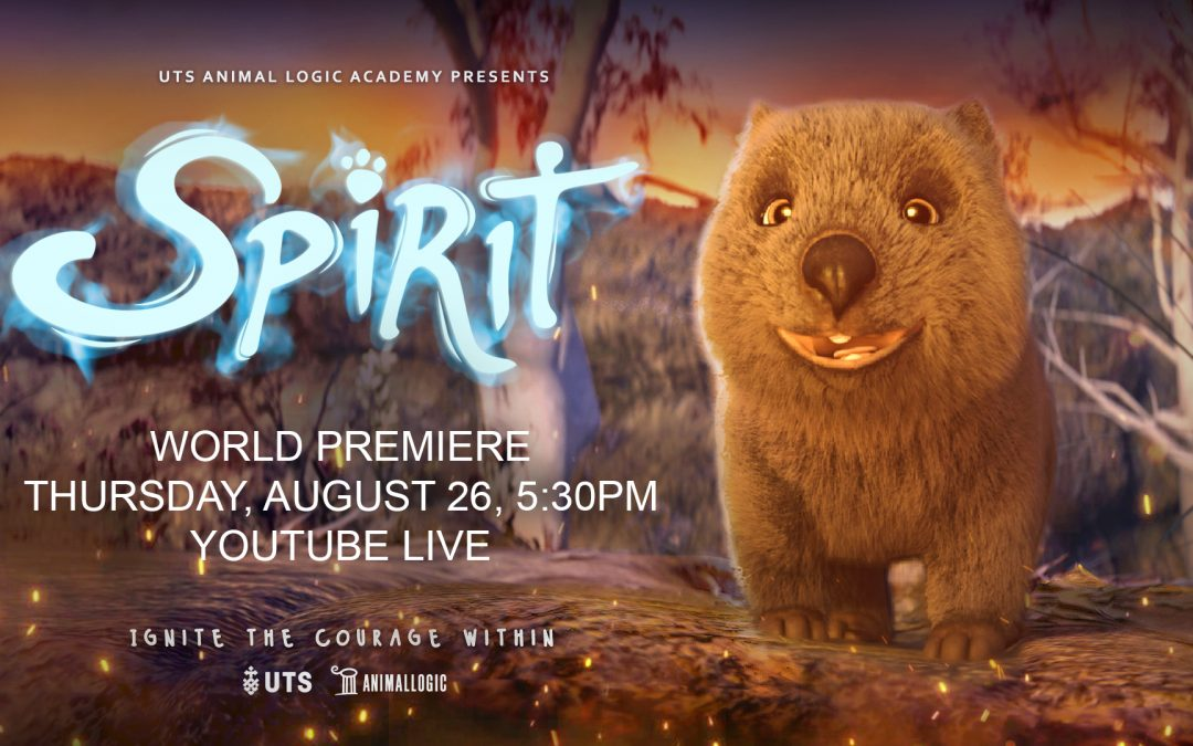 Join us for the official world premiere of 'Spirit'