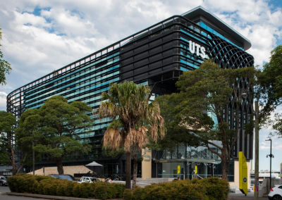 Welcome to UTS in the Rugby Australia Building at Moore Park