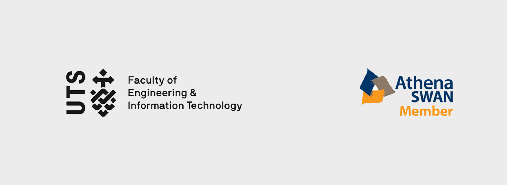 Banner image reads UTS Faculty of Engineering and Information Technology. Athena Swan Member.