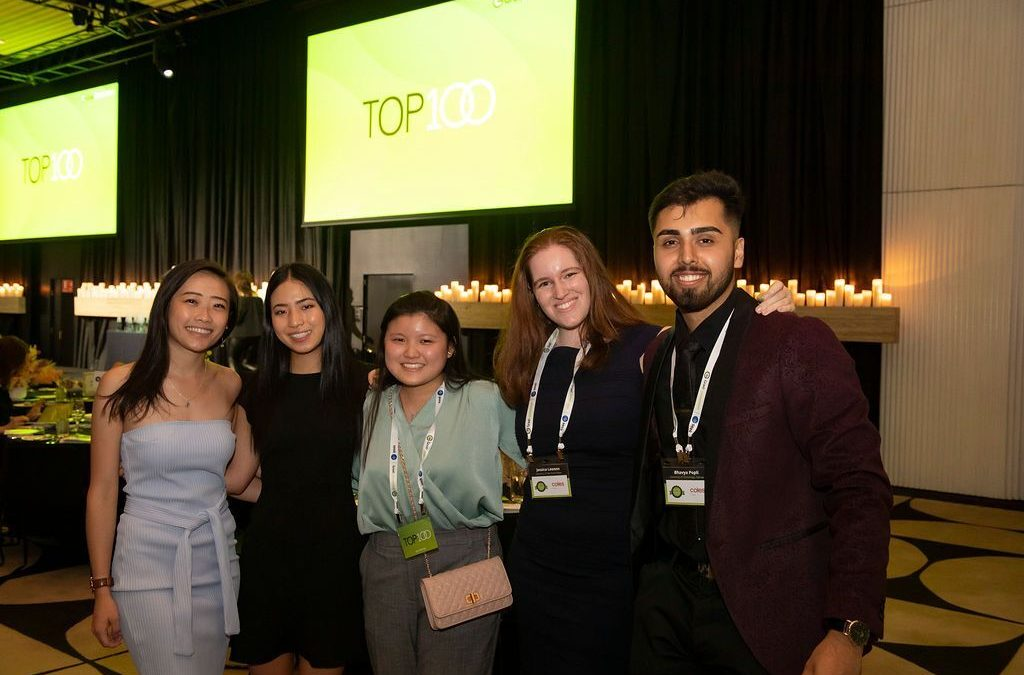 Future leaders: an interview with winners and finalists of the Top100 Awards
