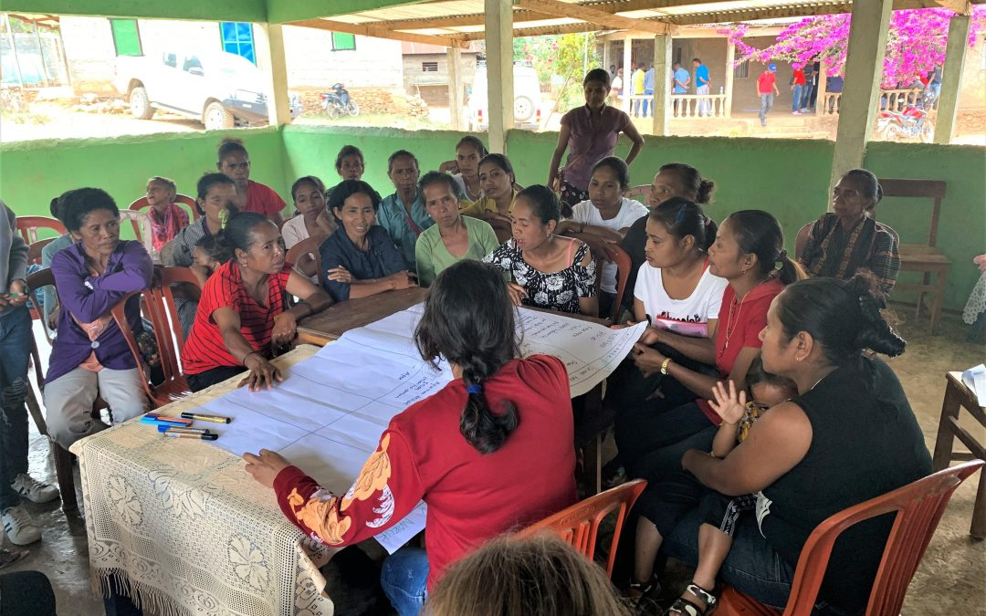 Integrating climate change considerations into Community Action Planning in Timor-Leste