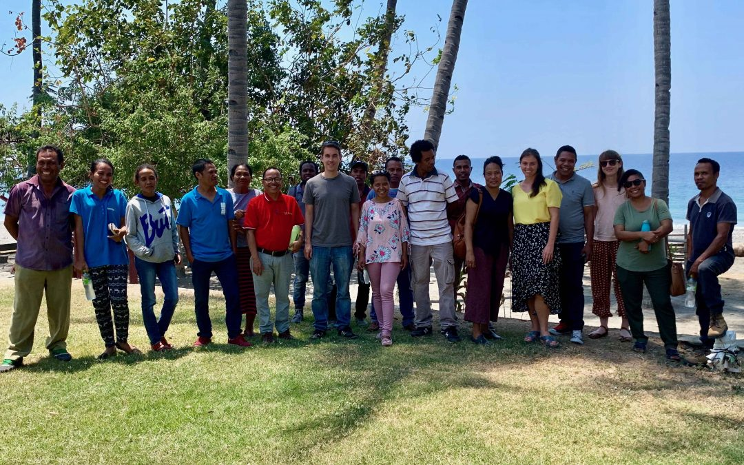 Completion of ISF's visit to Timor-Leste