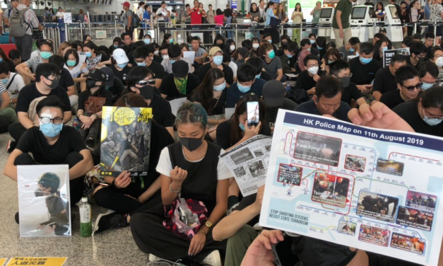 Hong Kong: chaos returns to airport