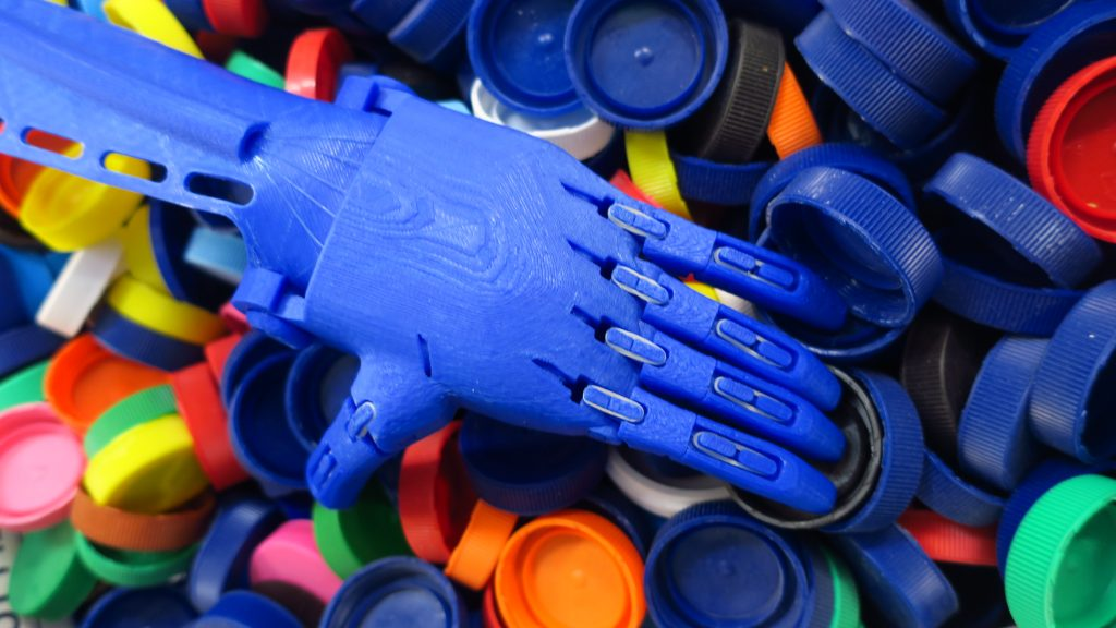 The future in their 3D-printed hands