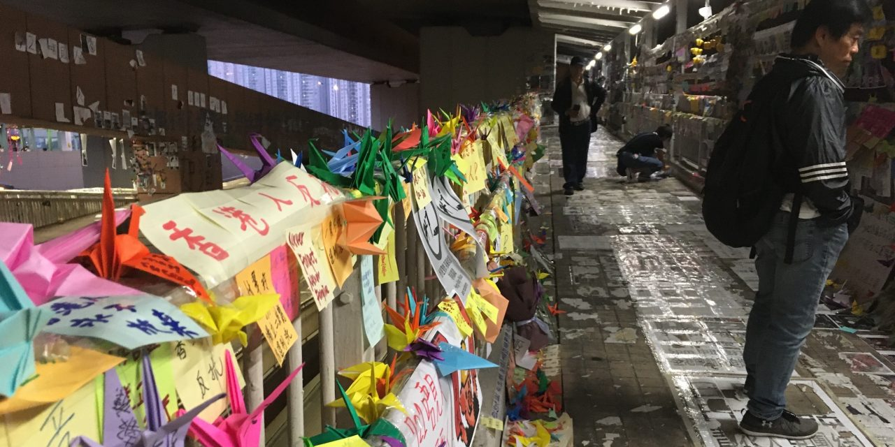 Deserted and paralysed: the other side of the Hong Kong protests