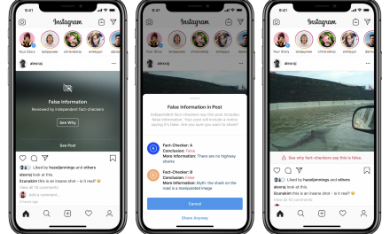 Busted! Instagram's calling out disinformation