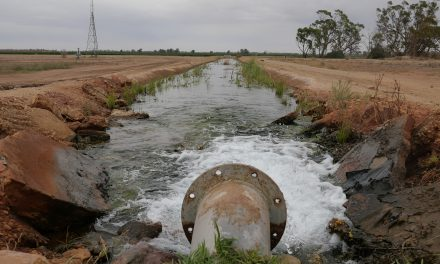 Ancient water to drain from farmland without ongoing joint management