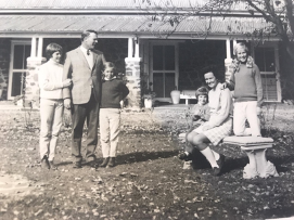Betty and her family in Walcha