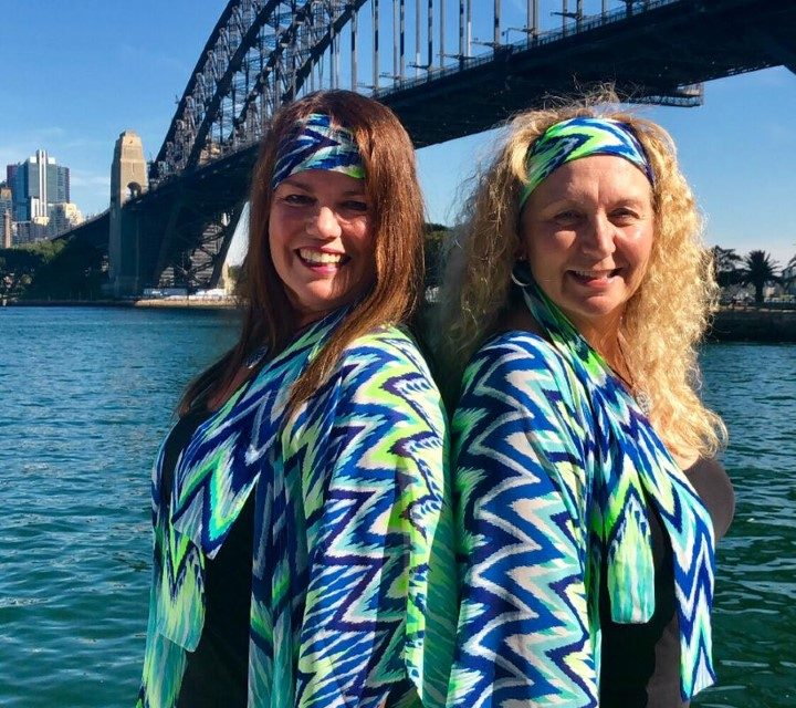 The duo who adapted their travel plans to help 'Ladies Escape'