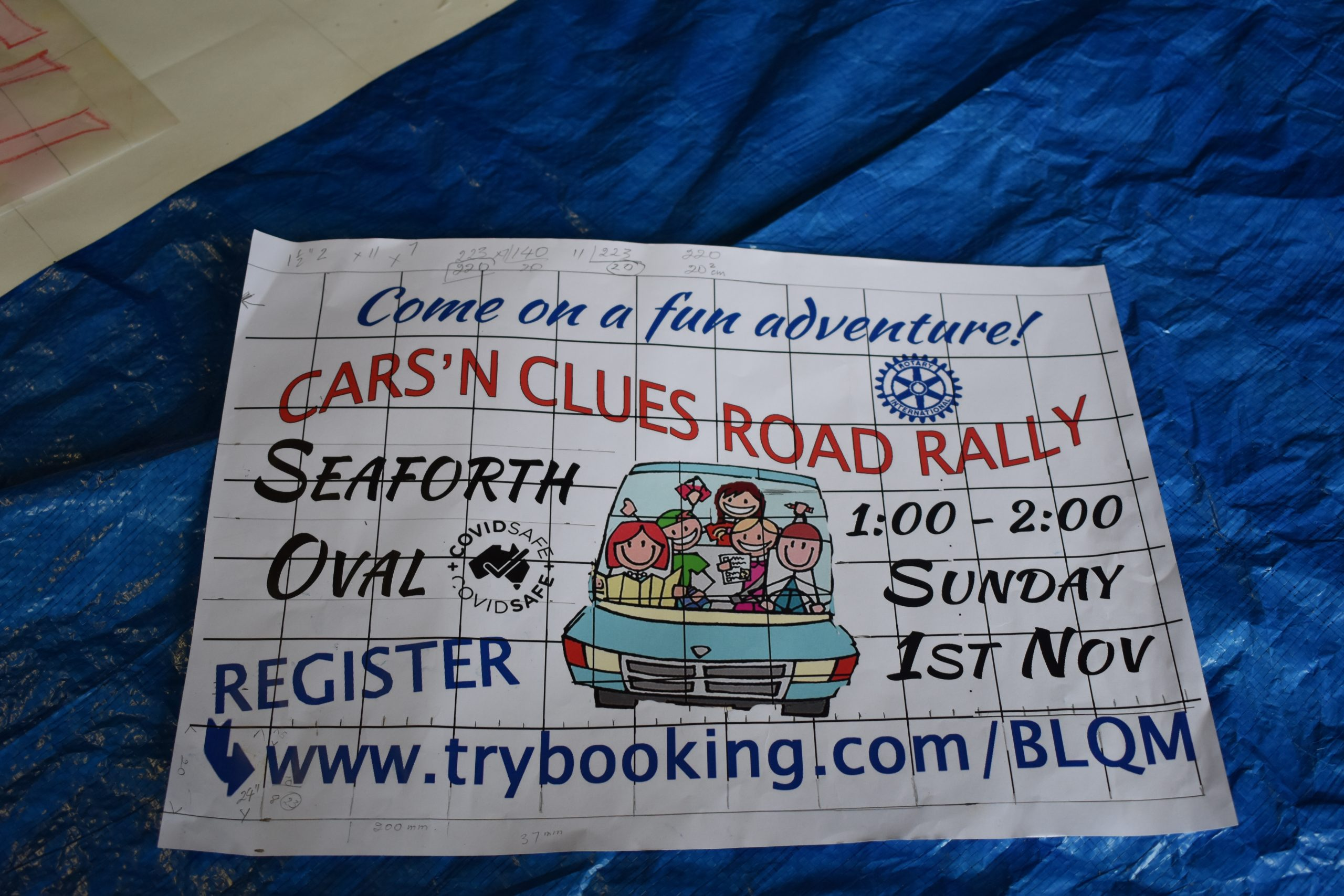 Poster for Cars N Clues Rally