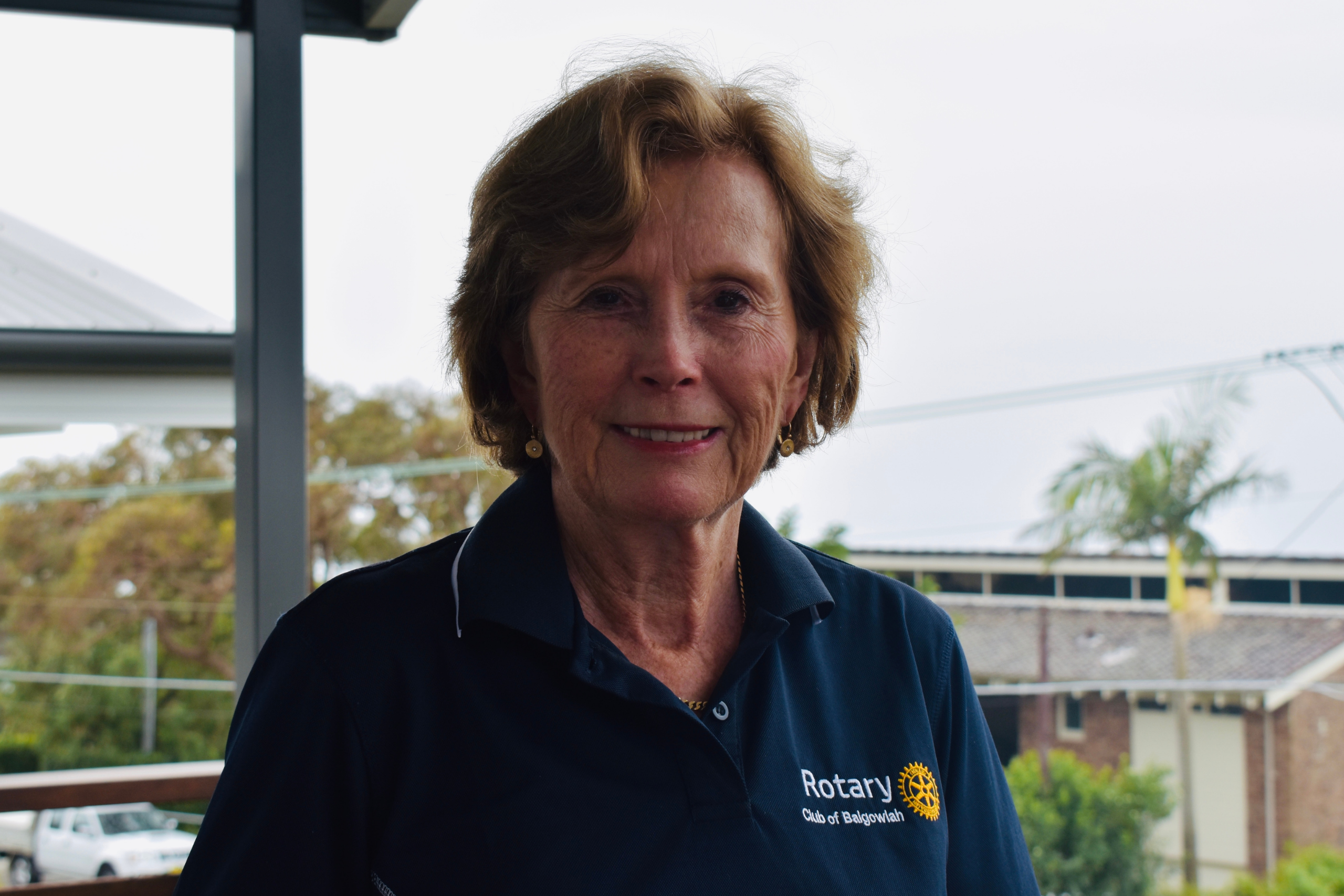 Portrait of Lindy Myers, Volunteer, 69 years old