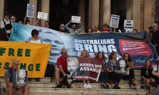 'Until the man is set free': commemorating one year of Assange protests