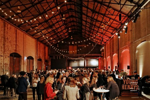 The opening night of last year's SWF at Carriageworks in Eveleigh. (Photo: Supplied)