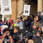 Protests condemn 'gutless' Morrison government response to Gaza