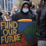 'We deserve a future too' say climate protesters as policeget pushy