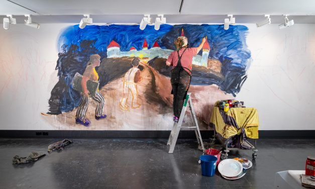 Why Wendy Sharpe's new epic work of art is set to be destroyed