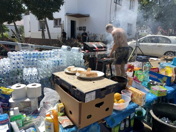 Supplies for residents and volunteers