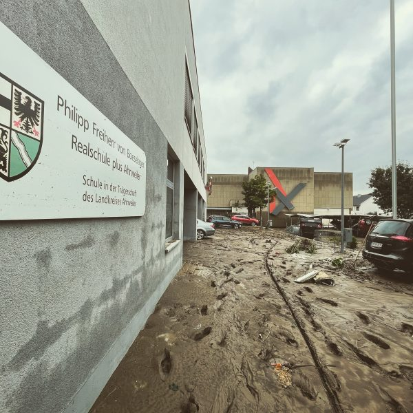Outside the Boeselager-Realschule
