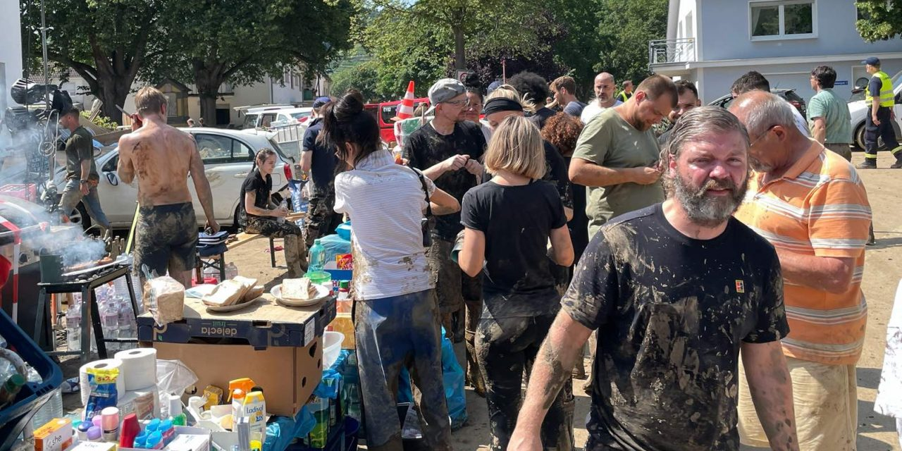 German flood victims not alone as community answers the call