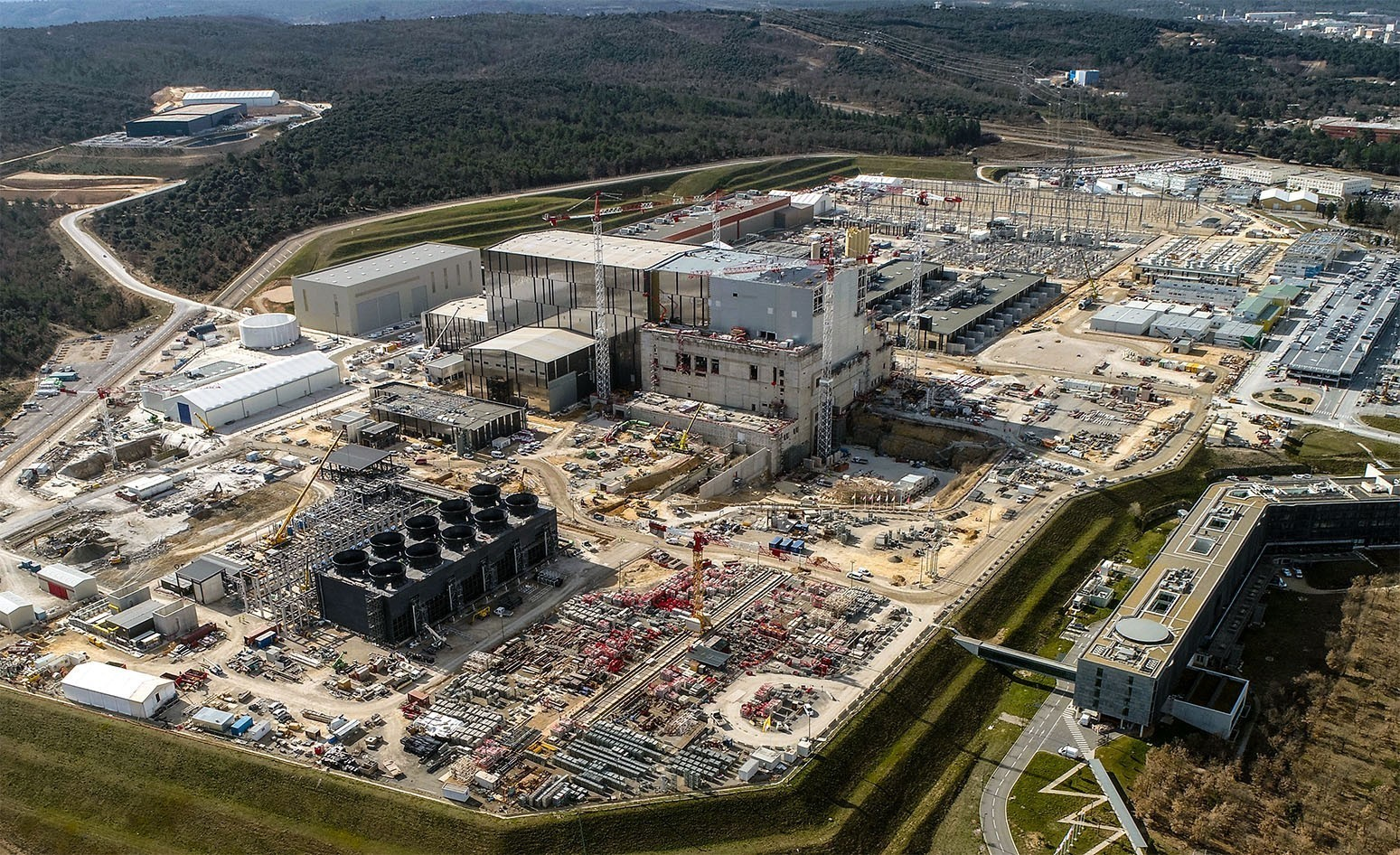 Image credit: ITER construction site and