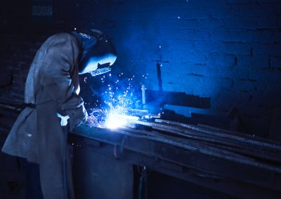 Gas metal arc welding process monitoring with acoustic sensing