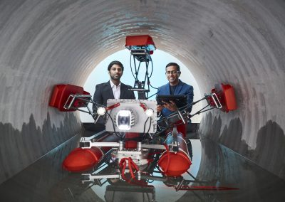 UTS robots take on the dirty work